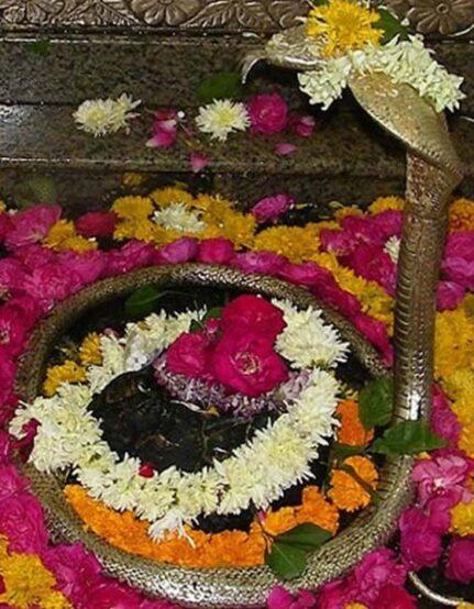 Puja at Omkareshwar Temple